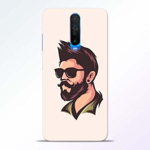 Beard Man Poco X2 Mobile Cover