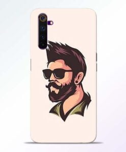 Beard Man Realme 6 Mobile Cover