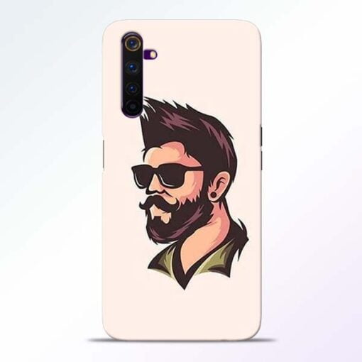 Beard Man Realme 6 Pro Mobile Cover