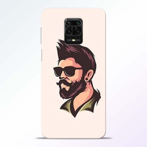 Beard Man Redmi Note 9 Pro Mobile Cover