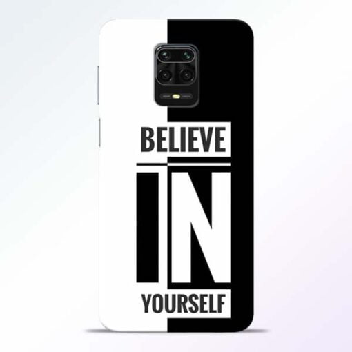 Believe Yourself Redmi Note 9 Pro Mobile Cover