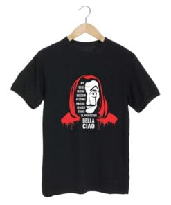 Bella Ciao Black T shirt