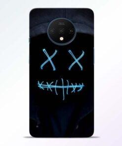 Black Marshmello OnePlus 7T Mobile Cover
