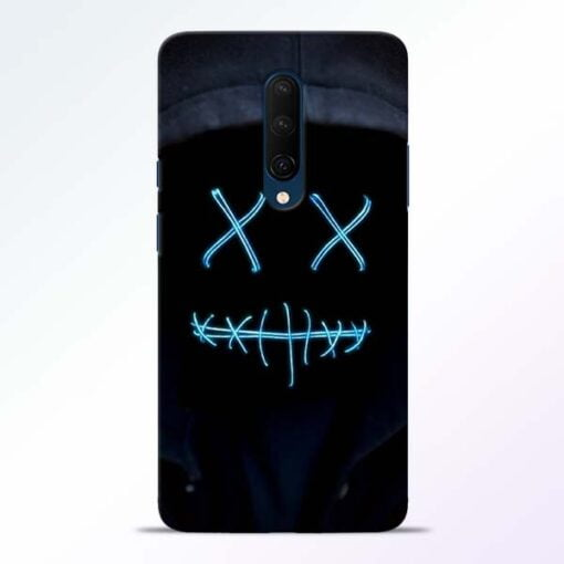 Black Marshmello OnePlus 7T Pro Mobile Cover