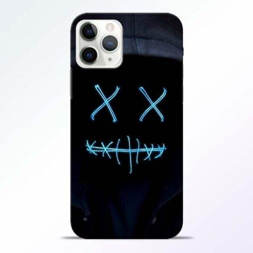 Black Marshmello iPhone 11 Pro Max Mobile Cover