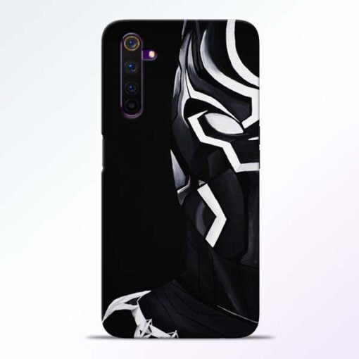 Black Panther Realme 6 Mobile Cover