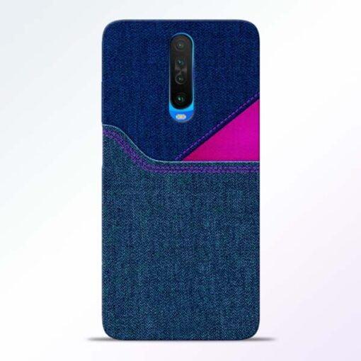 Blue Jeans Poco X2 Mobile Cover