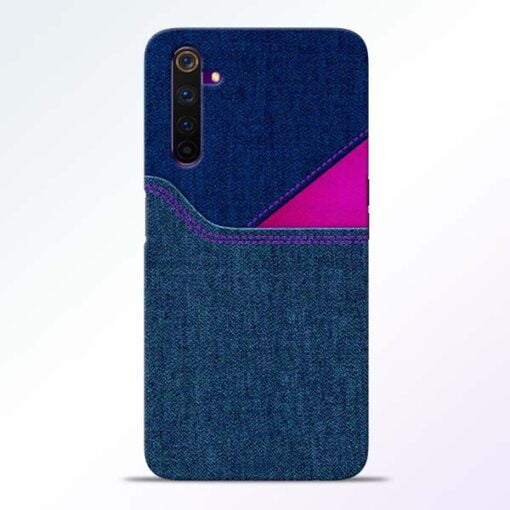 Blue Jeans Realme 6 Mobile Cover
