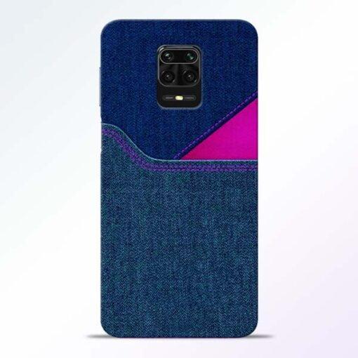 Blue Jeans Redmi Note 9 Pro Mobile Cover