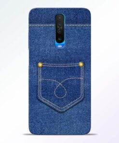 Blue Pocket Poco X2 Mobile Cover
