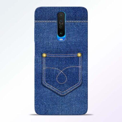 Blue Pocket Poco X2 Mobile Cover