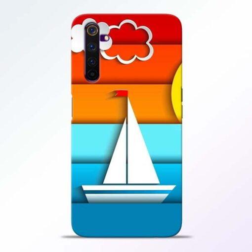 Boat Art Realme 6 Mobile Cover