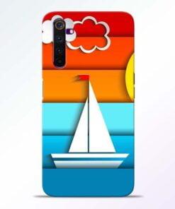 Boat Art Realme 6 Pro Mobile Cover