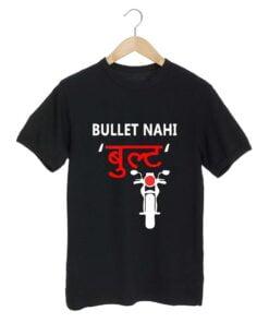 Bullet Nahi Black T shirt