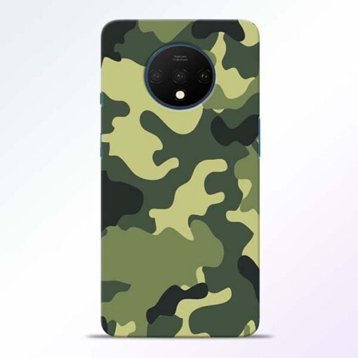 Camouflage OnePlus 7T Mobile Cover