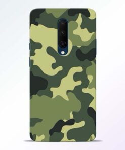 Camouflage OnePlus 7T Pro Mobile Cover