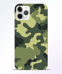 Camouflage iPhone 11 Pro Max Mobile Cover