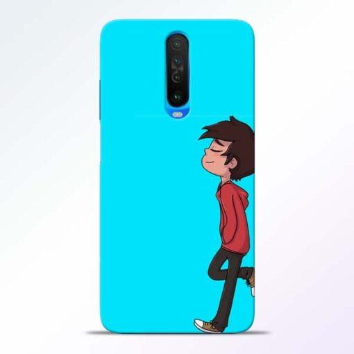 Cartoon Boy Poco X2 Mobile Cover