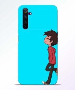 Cartoon Boy Realme 6 Mobile Cover