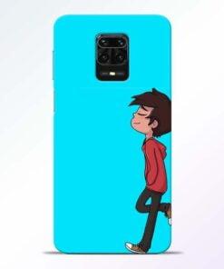 Cartoon Boy Redmi Note 9 Pro Mobile Cover