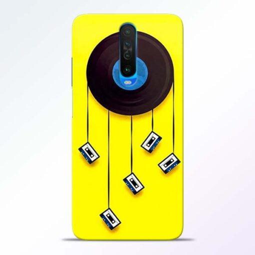 Cassette Tape Poco X2 Mobile Cover