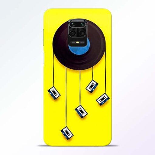Cassette Tape Redmi Note 9 Pro Mobile Cover