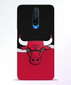 Chicago Bull Poco X2 Mobile Cover