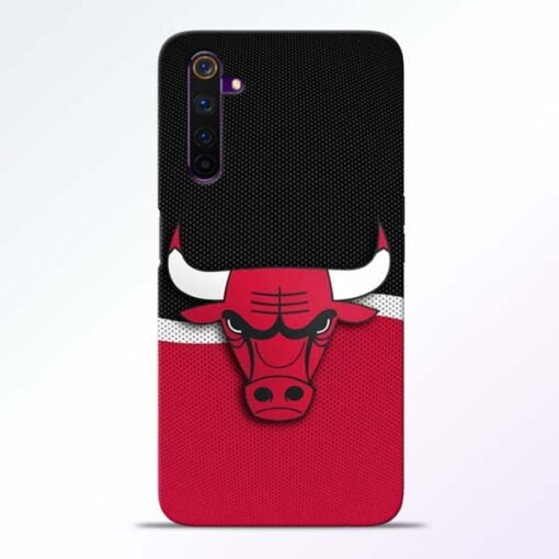 Chicago Bull Realme 6 Mobile Cover