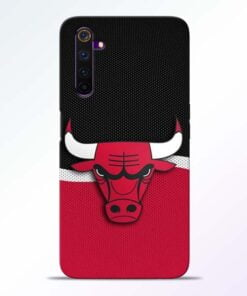Chicago Bull Realme 6 Pro Mobile Cover