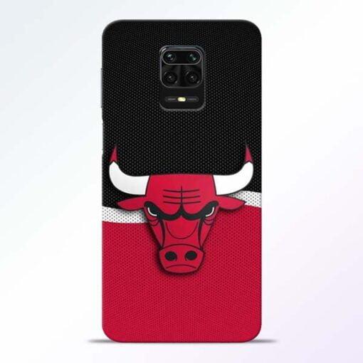 Chicago Bull Redmi Note 9 Pro Mobile Cover