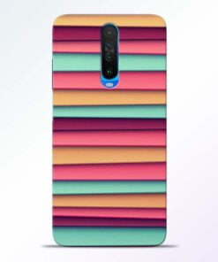 Color Stripes Poco X2 Mobile Cover