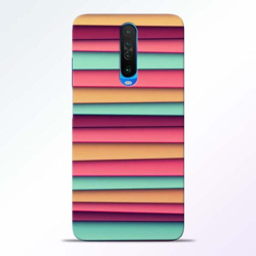 Color Stripes Poco X2 Mobile Cover