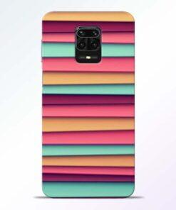 Color Stripes Redmi Note 9 Pro Mobile Cover