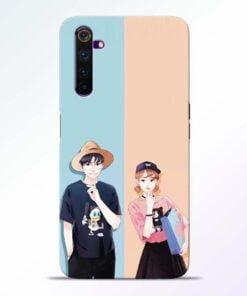 Cute Couple Realme 6 Pro Mobile Cover