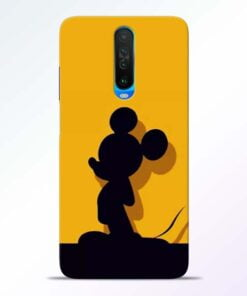 Cute Mickey Poco X2 Mobile Cover