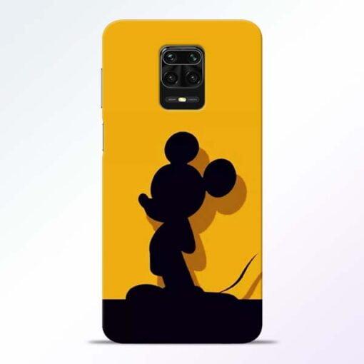 Cute Mickey Redmi Note 9 Pro Mobile Cover
