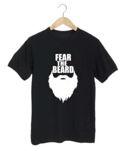 Fear Beard Black T shirt