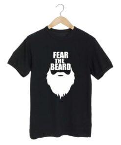 Fear Beard Black T shirt
