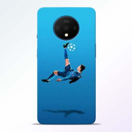 Football Kick OnePlus 7T Mobile Cover