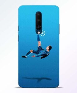 Football Kick OnePlus 7T Pro Mobile Cover