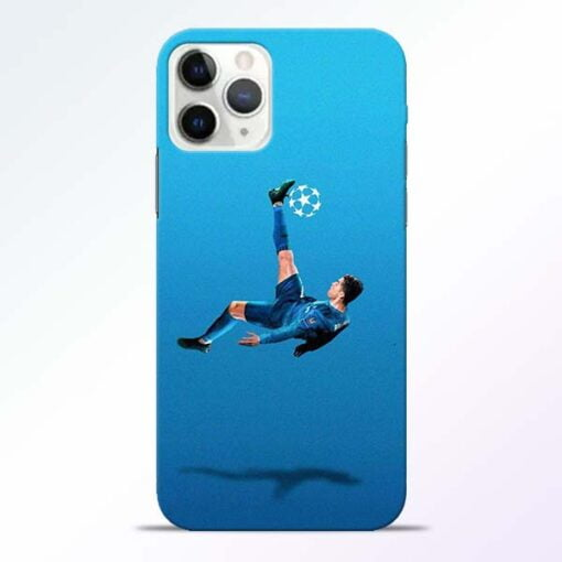 Football Kick iPhone 11 Pro Max Mobile Cover
