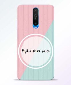 Friends Poco X2 Mobile Cover