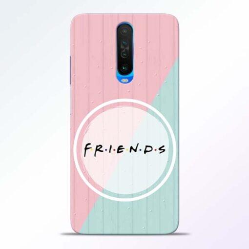 Friends Poco X2 Mobile Cover