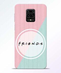 Friends Redmi Note 9 Pro Mobile Cover
