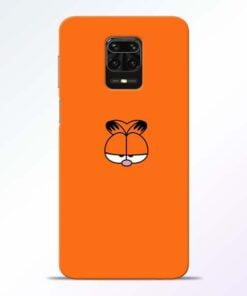 Garfield Cat Redmi Note 9 Pro Mobile Cover