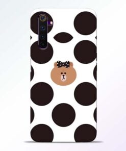 Girl Panda Realme 6 Mobile Cover