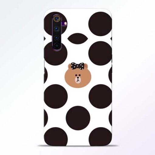 Girl Panda Realme 6 Pro Mobile Cover