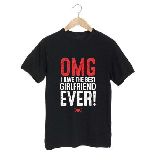 GirlFriend Ever Black T shirt