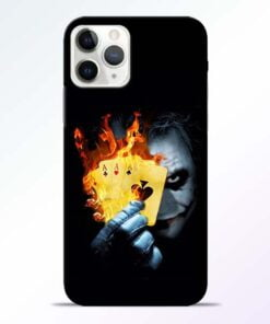 Joker Shows iPhone 11 Pro Max Mobile Cover