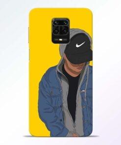 Kakashi Boy Redmi Note 9 Pro Mobile Cover